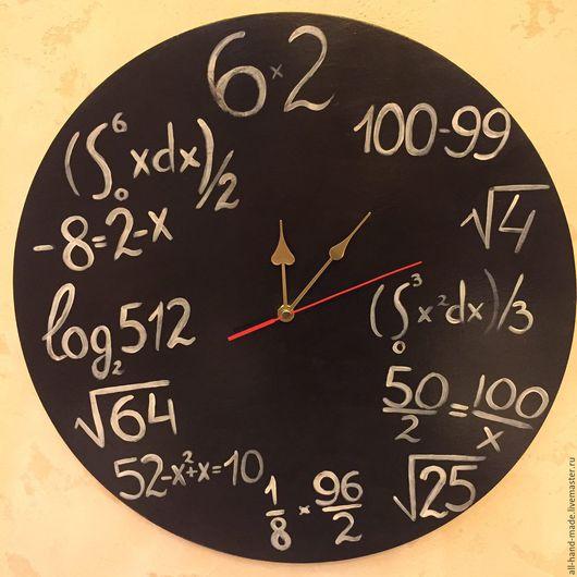 Часы для дома ручной работы. Ярмарка Мастеров - ручная работа. Купить Часы в подарок учителю. Handmade. Часы настенные