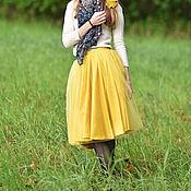 """Одежда handmade. Livemaster - original item Tutu skirt """"Audrey"""", mustard. Handmade."""