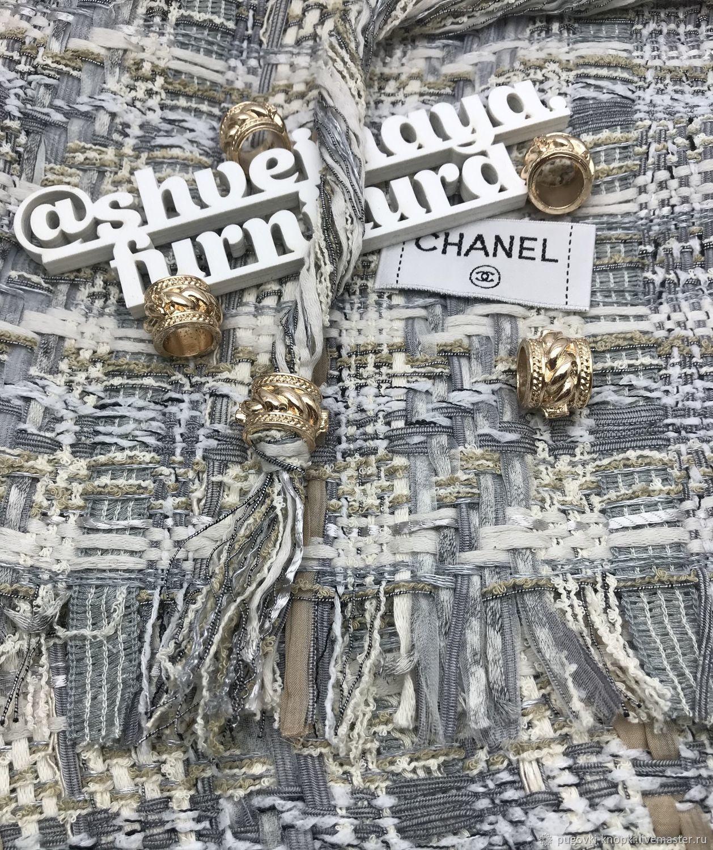 Концевики-декоры в стиле Chanel, Фурнитура для шитья, Москва,  Фото №1