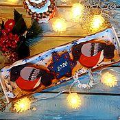 """Пряники ручной работы. Ярмарка Мастеров - ручная работа Прянички """"Снегири"""". Handmade."""