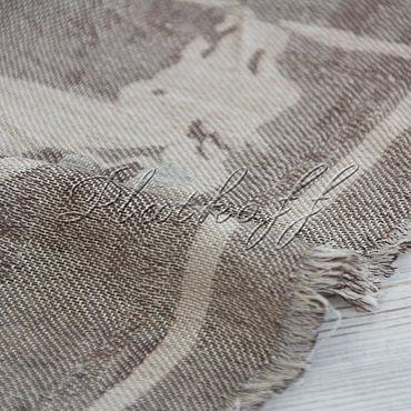 Accessories handmade. Livemaster - original item A cashmere shawl from HERMES fabric