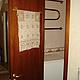 Ванная комната ручной работы. Ярмарка Мастеров - ручная работа. Купить Кружевное полотенце крючком Поле сказок - золотисто-бежевое украшение. Handmade.