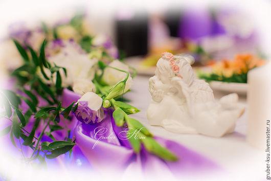 Свадебные аксессуары ручной работы. Ярмарка Мастеров - ручная работа. Купить Оформление свадебного зала Лавандовая свадьба. Handmade. Сиреневый