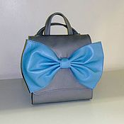 Сумки и аксессуары handmade. Livemaster - original item Leather backpack-bag. Handmade.