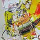 Абстракция ручной работы. Заказать Продавая корову вы продаете с ней и ее молоко, абстракция оригинал. Дмитрий Матковский (matkovsky). Ярмарка Мастеров.