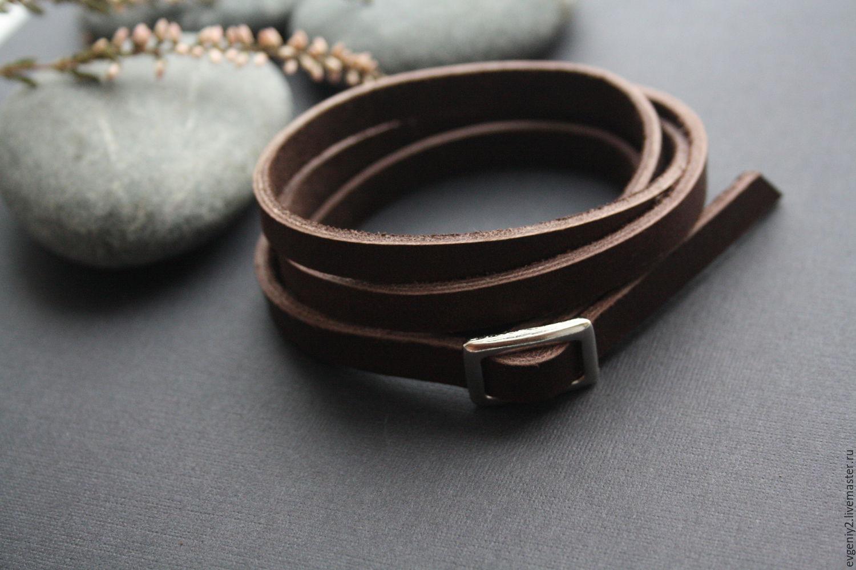Unisex bracelet made of genuine leather, Bead bracelet, Volgograd,  Фото №1