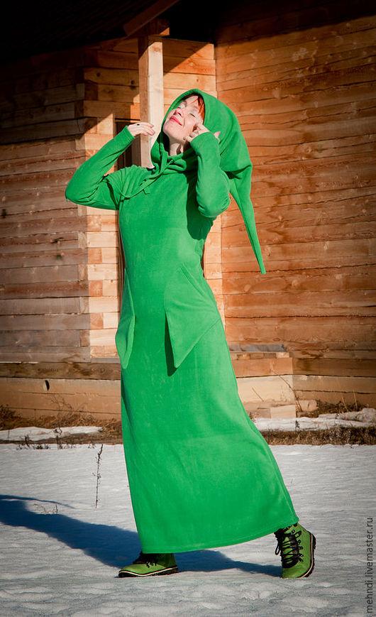 Платья ручной работы. Ярмарка Мастеров - ручная работа. Купить Зеленая Трава. Handmade. Зеленый, необычная одежда, ведьма, ирландия