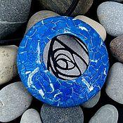 Украшения handmade. Livemaster - original item Pendant from polymer clay - Ultramarine. Handmade.