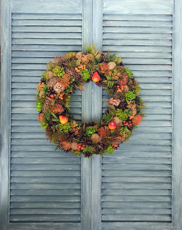 Interior wreath 'Mood', Wreaths, Podolsk,  Фото №1