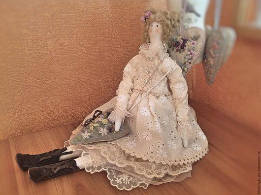 Куклы Тильды ручной работы. Ярмарка Мастеров - ручная работа. Купить Полин. Handmade. Интерьерная кукла, подарок на день рождения