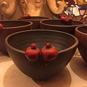 Посуда ручной работы. Ярмарка Мастеров - ручная работа Салатница Пиала конфетница. Handmade.