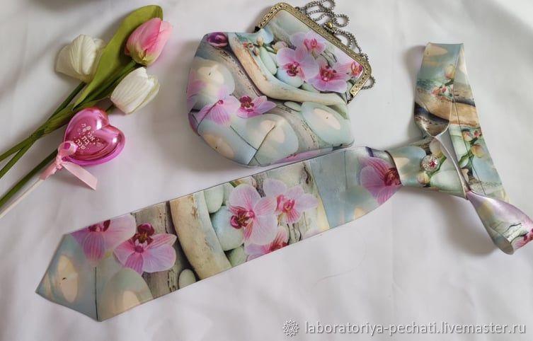 Женский галстук и сумочка-косметичка, Галстуки, Хайфа,  Фото №1
