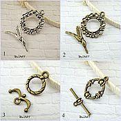 Материалы для творчества handmade. Livemaster - original item Toggle. Lock for jewelry Art.ZU06. Handmade.