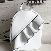 handmade. Livemaster - original item Backpack made of genuine leather
