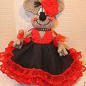 Куклы и игрушки ручной работы. Ярмарка Мастеров - ручная работа Мышка Кармен. Handmade.