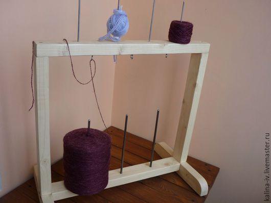 Другие виды рукоделия ручной работы. Ярмарка Мастеров - ручная работа. Купить подставка для ниток в бобинах. Handmade. Бежевый