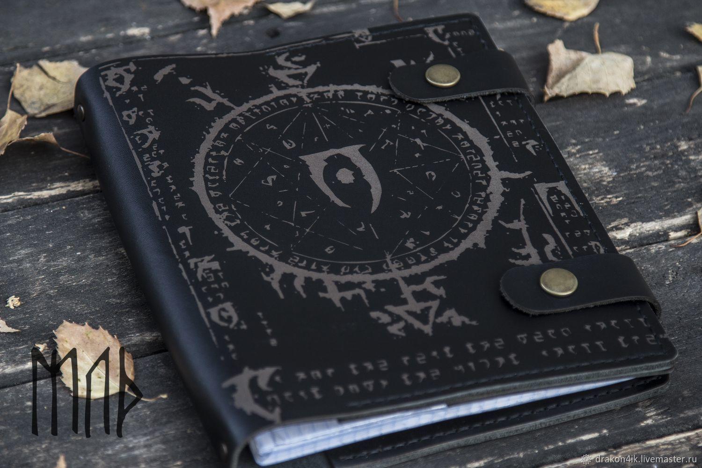 Кожаный Блокнот А5 - Мистериум Заркса, Блокноты, Новосибирск,  Фото №1