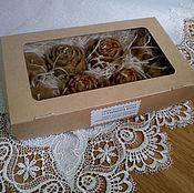 Свечи ручной работы. Ярмарка Мастеров - ручная работа Набор восковых свечей 8 шт. Handmade.