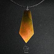 Украшения handmade. Livemaster - original item Gradient - jewelry set made of wood and resin. Handmade.