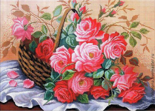Корзинка роз.