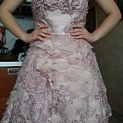 Платья ручной работы. Ярмарка Мастеров - ручная работа Платье вечернее цвета розовой пудры от Karen Millen. Handmade.