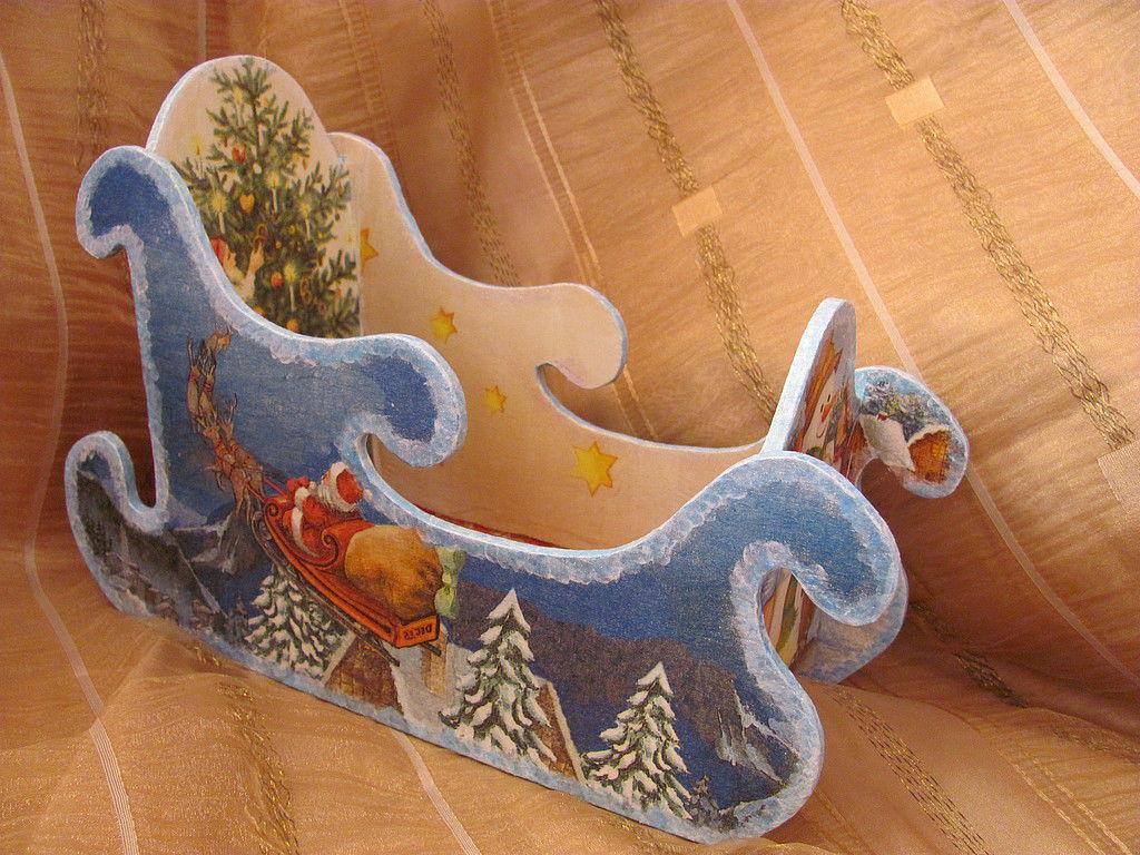 Декор саней