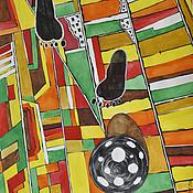 Картины и панно ручной работы. Ярмарка Мастеров - ручная работа Первые шаги. Handmade.