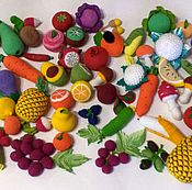 handmade. Livemaster - original item Knitted food. fruits. vegetables. Handmade.
