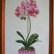 Картины и панно ручной работы. Ярмарка Мастеров - ручная работа Орхидеи. (3 вида). Handmade.