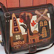 """Сумки и аксессуары ручной работы. Ярмарка Мастеров - ручная работа сумка """"Это он!Это он! Наш весёлый почтальон!"""". Handmade."""