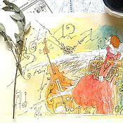 """Картины и панно ручной работы. Ярмарка Мастеров - ручная работа """"Хранительница времени"""". Handmade."""