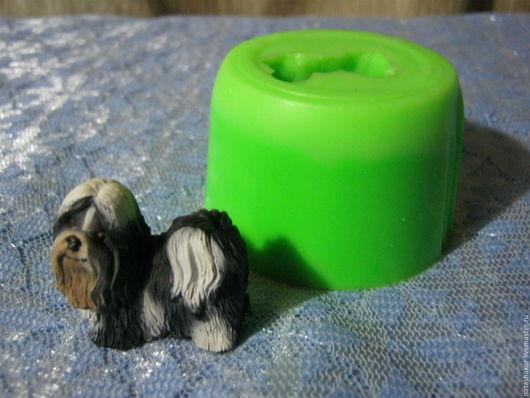 Силиконовая форма `Шитцу` для изготовления мыла, гипсовых фигурок