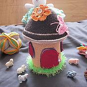 """Куклы и игрушки ручной работы. Ярмарка Мастеров - ручная работа Игрушка """"Грибок- теремок"""". Handmade."""