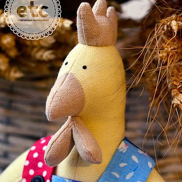 """Куклы и игрушки ручной работы. Ярмарка Мастеров - ручная работа """"Фермер Петр"""" Цыпленок Тильда. Handmade."""