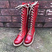 Обувь ручной работы handmade. Livemaster - original item Moulin Rouge Boots
