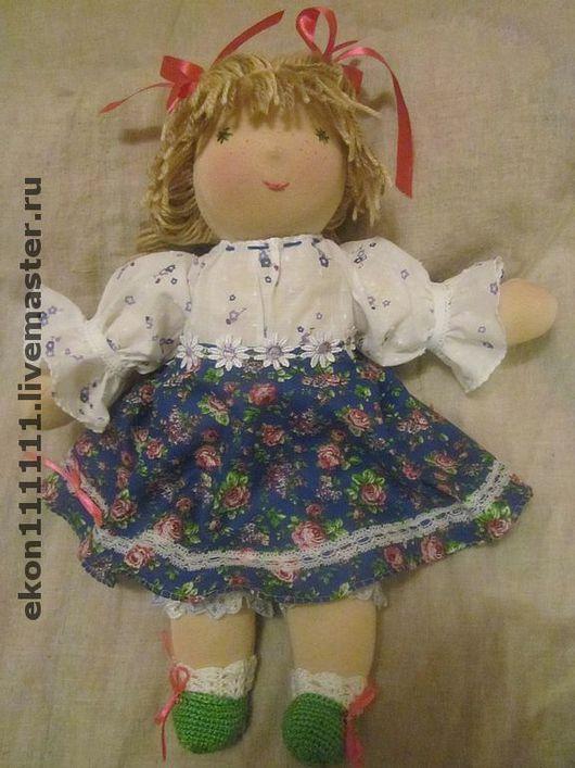 Человечки ручной работы. Ярмарка Мастеров - ручная работа. Купить Куколка Любимая, 36 см. Handmade. Кукла подарок, хлопок