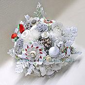Свадебный салон ручной работы. Ярмарка Мастеров - ручная работа Зимний букет невесты. Handmade.