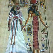 Картины ручной работы. Ярмарка Мастеров - ручная работа Исида и Нефертити.. Handmade.