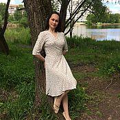 Одежда ручной работы. Ярмарка Мастеров - ручная работа Платье с запахом. Handmade.