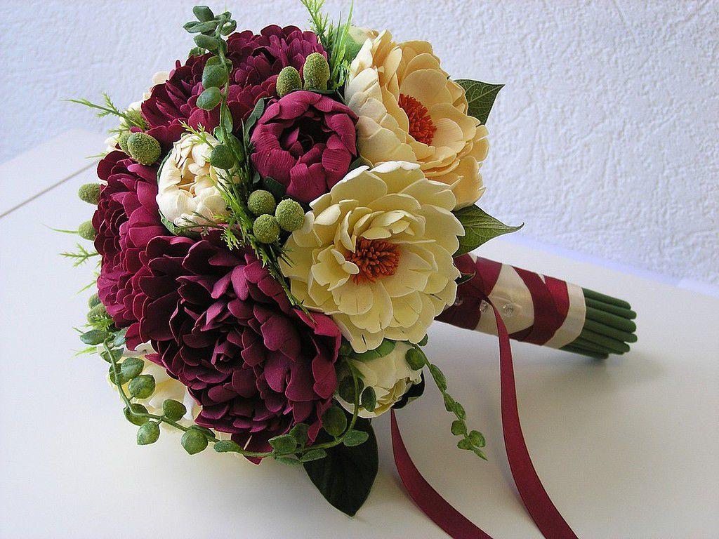Заказать букет свадебный из пионов