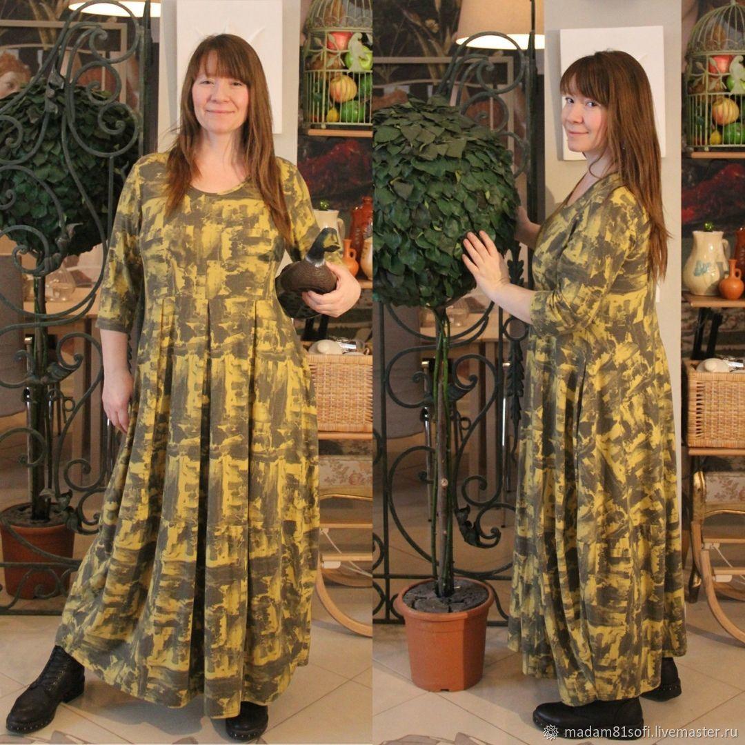 Платье Брунхильда в стиле бохо большого размера, Платья, Лобня,  Фото №1
