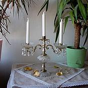 Винтаж ручной работы. Ярмарка Мастеров - ручная работа Винтажный канделябр на 3 свечи. Handmade.