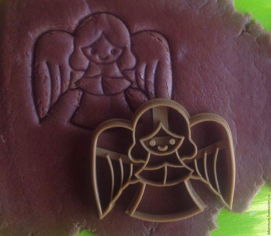 Кухня ручной работы. Ярмарка Мастеров - ручная работа. Купить Форма для пряников и печенья Ангел. Handmade. Разноцветный, формочка для печенья