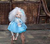 Куклы и игрушки ручной работы. Ярмарка Мастеров - ручная работа Кукла Мальвинка. Handmade.