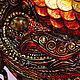Элементы интерьера ручной работы. Рыбка золотая. Денежный оберег. Оберег на богатство. красно-зеленая.. Юлия Ренессанс (Renaissance). Ярмарка Мастеров.