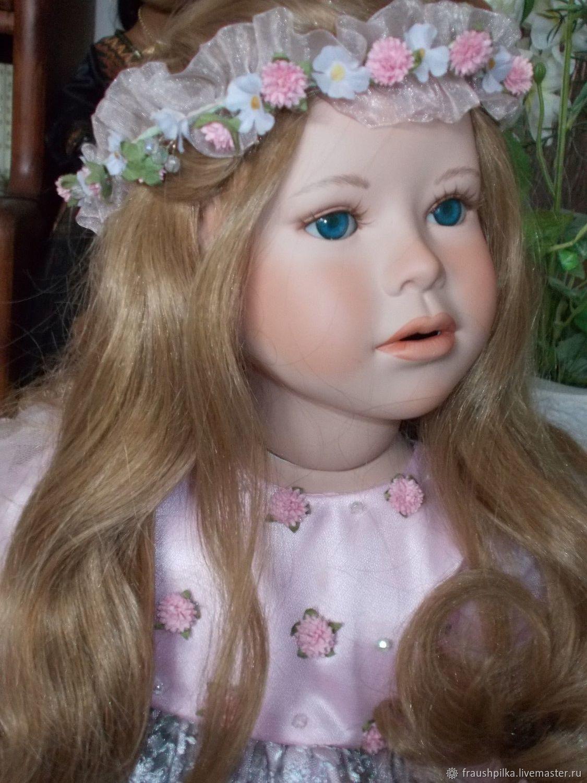 Коллекционные куклы ручной работы. Ярмарка Мастеров - ручная работа. Купить  Коллекционная кукла Дениза от ... 7ebddbadecf