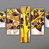 Картины и панно ручной работы. Ярмарка Мастеров - ручная работа Мудрое древо. Handmade.