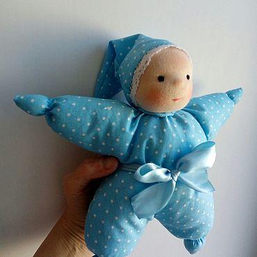 Куклы и игрушки ручной работы. Ярмарка Мастеров - ручная работа Первая кукла вашего малыша. Handmade.