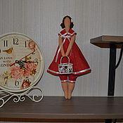 Куклы и игрушки ручной работы. Ярмарка Мастеров - ручная работа Очаровательная толстушка. Handmade.