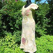 Одежда ручной работы. Ярмарка Мастеров - ручная работа Валяное платье Purple Orchid. Handmade.